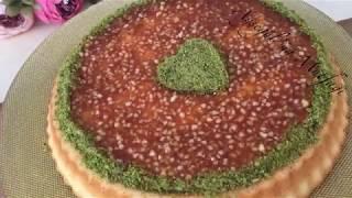Kremalı Karamelli Tart Kek Tarifi