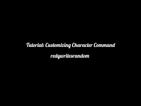 | Tutorial | Customizing Character Command | Episode Interactive |