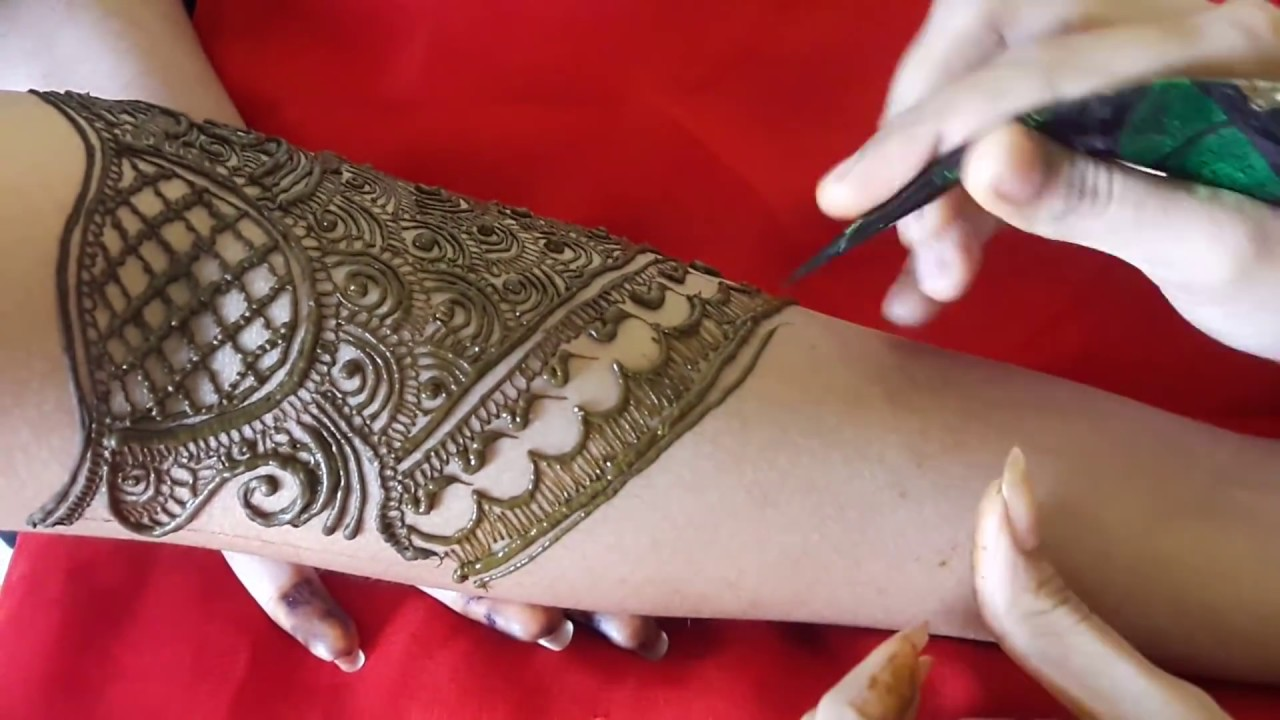 Best Arabic Mehndi Design 2019