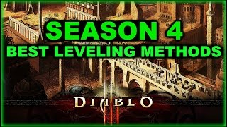 Diablo 3 - Fastest Leveling Guide for XP Season 4 [Patch 2.4]