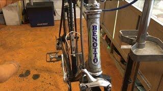 Benotto Italian racing bike, late '80s maybe early '90s, like Bianchi , Colnago, Bottecchia, Masi