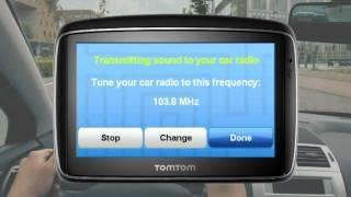 TomTom FM Transmitter Function