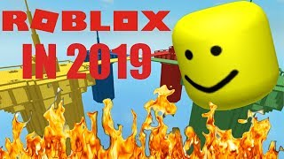 ROBLOX in 2019 - Destruction simulator ft. Loen Debr