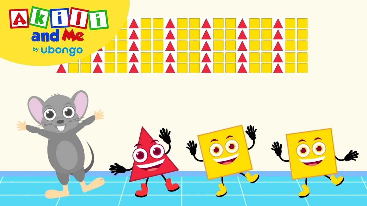 Sorting Patterns! | Numbers & Shapes with Akili and Me | African Educational Cartoons