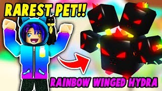 I GOT THE RAREST PET IN ROBLOX BUBBLE GUM SIMULATOR CANDY LAND! *Unexpected*