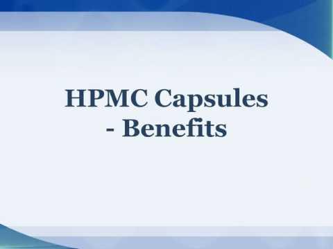 HPMC Capsules Benefits