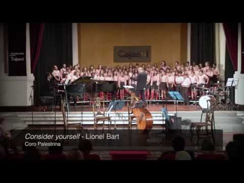 Consider yourself (Lionel Bart)