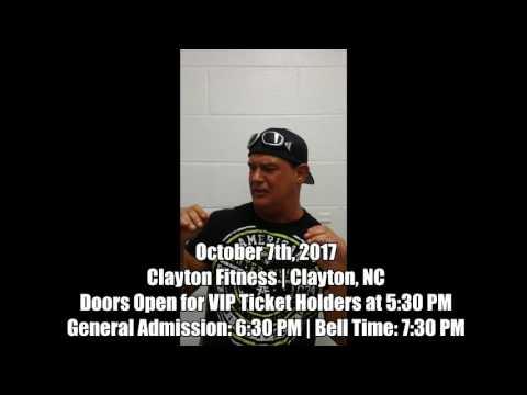 NCWA October 7th 2017