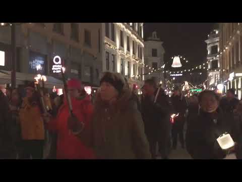 Nobel Peace Prize Torchlight Parade