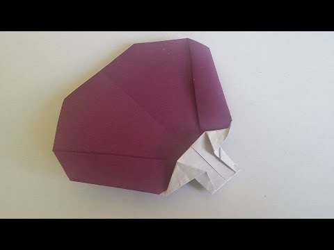 How To Make Origami Fan Easy Youtube