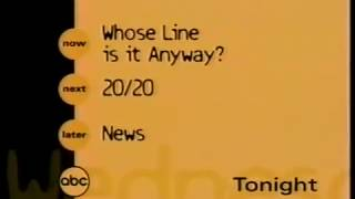 ABC Wednesday bumper, 1999 thumbnail