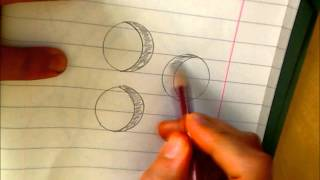 How to draw - Islamic art tutorial - How to draw a crescent