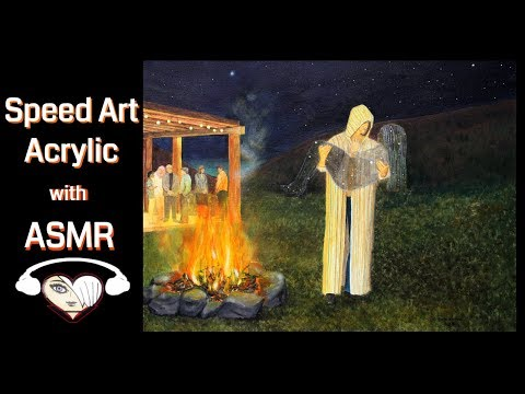 No Smoke Without Fire! Time lapse painting with ASMR 3D sound – Astral Dreams
