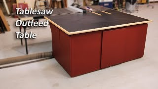 Table Saw Out-Feed Table Build