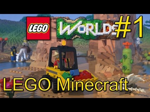 LEGO Worlds {PC} прохождение часть 1 — Настоящий Лего Майнкрафт