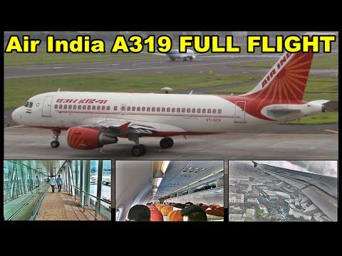 FULL FLIGHT! Air India Airbus A319 Mumbai to Aurangabad