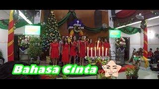 Lagu Natal Remaja Naposo HKBP Pematangsiantar   Ajarilah Kami Bahasa CintaMU 💝