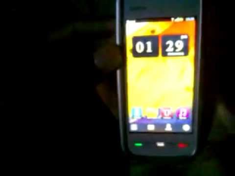 Symbian belle home screen/user interface in nokia symbian s60 v5 (nokia 5230, 5233, 5235, 5228, c6,