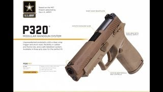Sig M17 To Be Released To The Public THIS WEEK