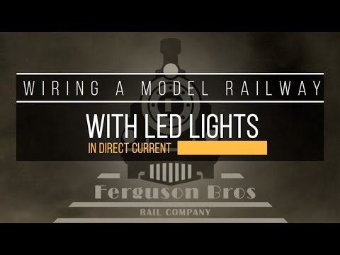 09 - Wiring a model railway with LED lights in DC - YouTubeYouTube