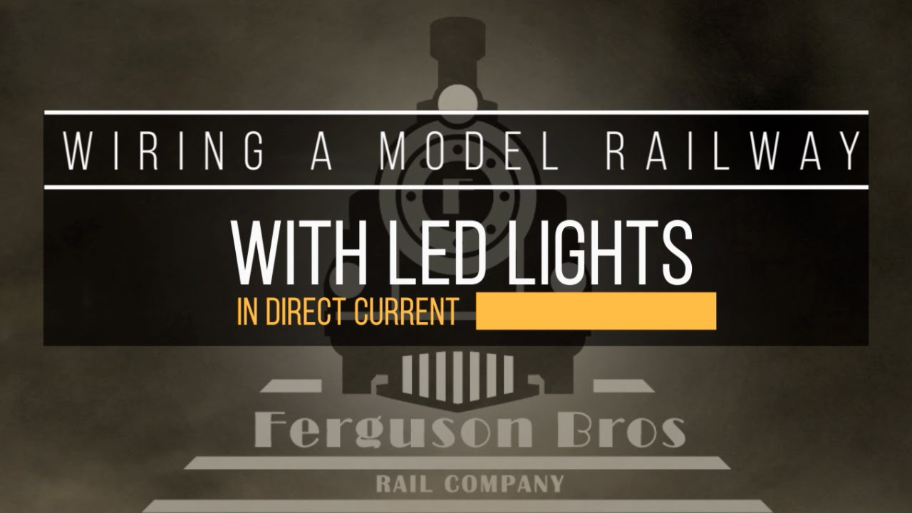 maxresdefault 09 wiring a model railway with led lights in dc youtube wiring dc lights at n-0.co