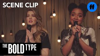 The Bold Type | Season 2, Episode 5: Jane, Kat & Sutton Sing Karaoke | Freeform