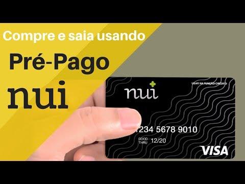 Cartão Pré Pago NUI - Vendido em Lojas #PagamentosMóveis #AppseDicas