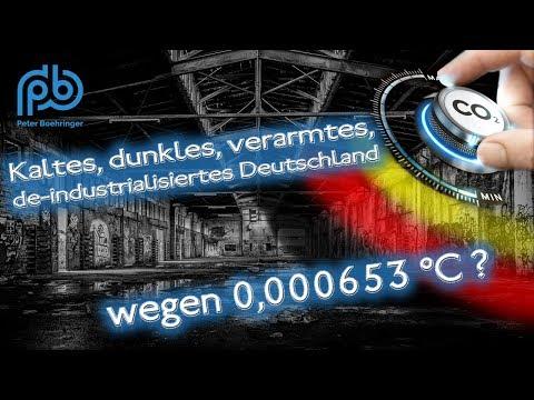 Kaltes, verarmtes, deindustrialisiertes Deutschland wegen 0,000653 Grad? – Boehringer Klartext (78)