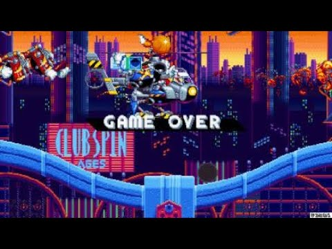 Sonic Mania-Getting frustrated, game over |