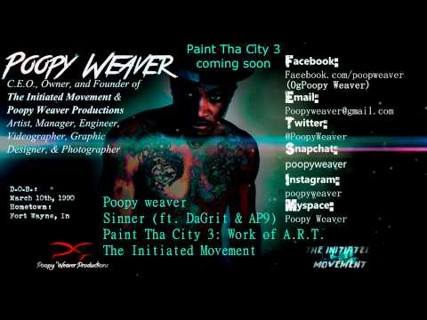 Poopy Weaver   Sinner ft DaGrit & AP9 OFFICIAL AUDIO