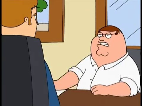 "Family Guy - ""Here's what I think of your contract"""
