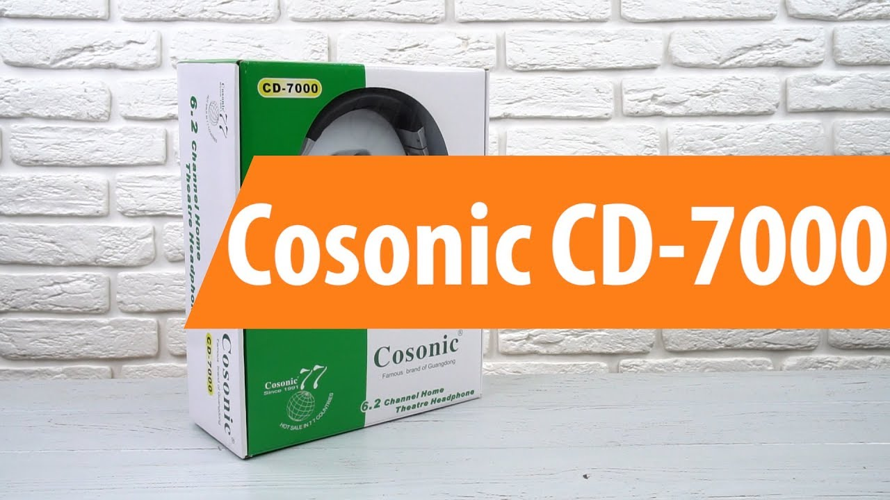 COSONIC CD-7000 DRIVERS DOWNLOAD (2019)