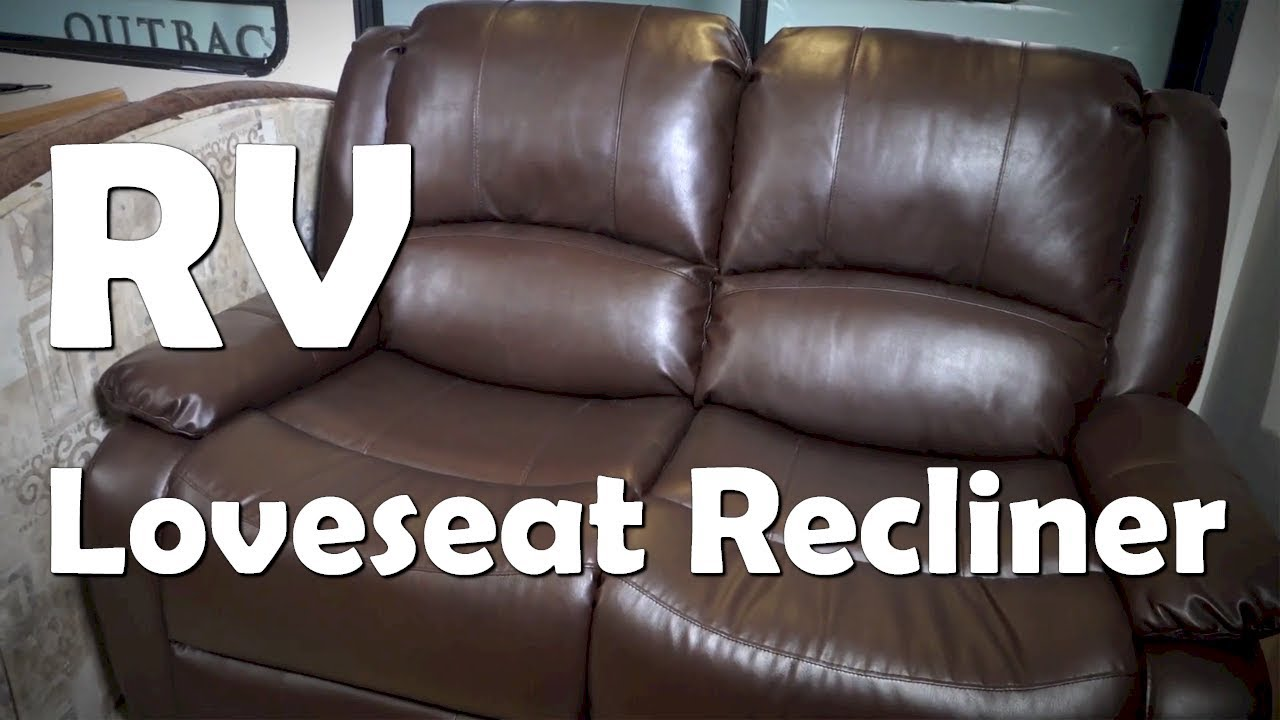 Dual Reclining Rv Sofa Loft Fort Lauderdale Renovation And Remodel New Loveseat Recliner Install From Youtube Premium
