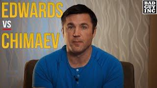 Leon Edwards has a Good Point re: <b>Khamzat Chimaev</b>
