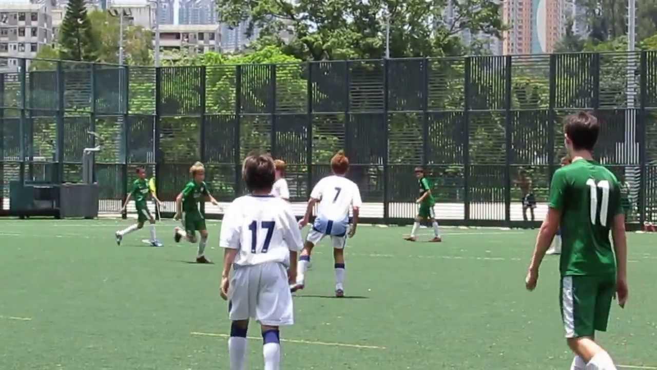 九龍木球會vs港會(2013恒基青少年足總盃U14準決賽)片段11 - YouTube