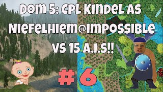 Dominions 5, Cpl. Kindel gameplay ep#6 Dom 5 is a turn based 4x fantasy strategy game