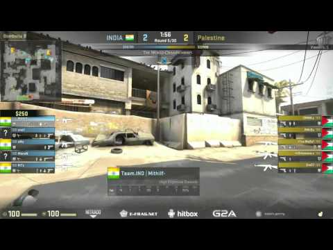 The World Championships 2015 Asian Qualifier | Palestine vs. India | (Map: Dust 2)