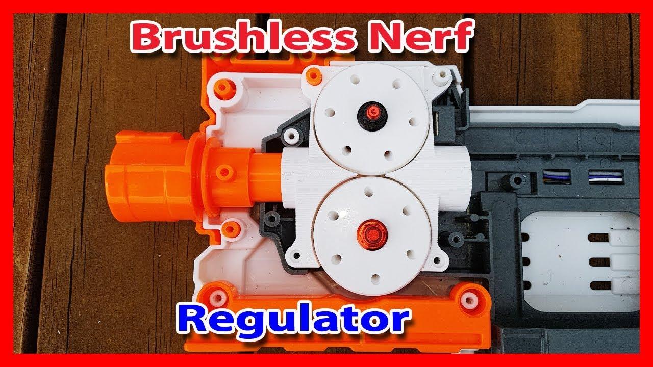 The most powerful nerf regulator mod brushless motor for Most powerful brushless motor
