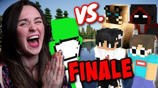 Reacting to DREAM vs 4 HUNTERS FINALE!! | Dream Reaction Series