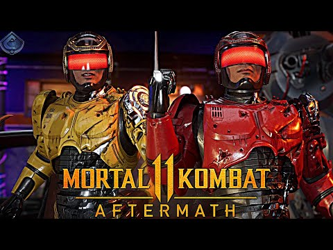 Mortal Kombat 11 Online - ROBOCOP MAKES SOMEONE QUIT!