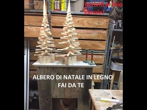 Albero di natale in legno fai da te (homemade wood christmas tree)