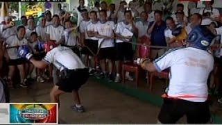 Blindfold boxing at iba pang aktibidad, tampok sa team building ng mga sundalo sa Central Visayas