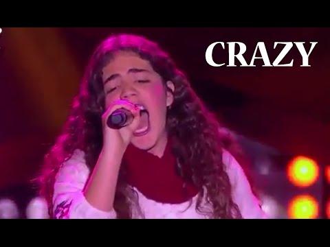 Daniela - 'Crazy'(Gnarls Barkley)| LVK Colombia – Audiciones– 1T
