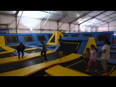 Singapore's largest indoor trampoline park opens