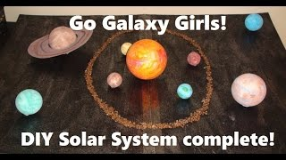 Go Galaxy Girls! - Episode 2 (chapter two) DIY Solar System complete!