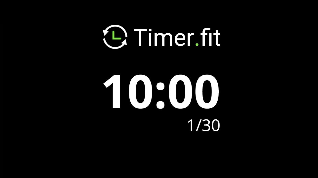 10 minute interval timer youtube