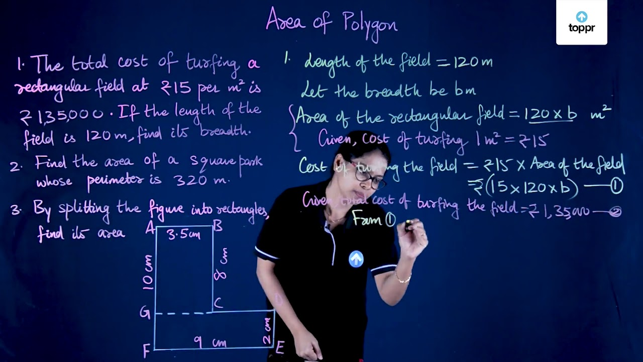 Area and Perimeter: Definition, Formulae, Videos and Solved
