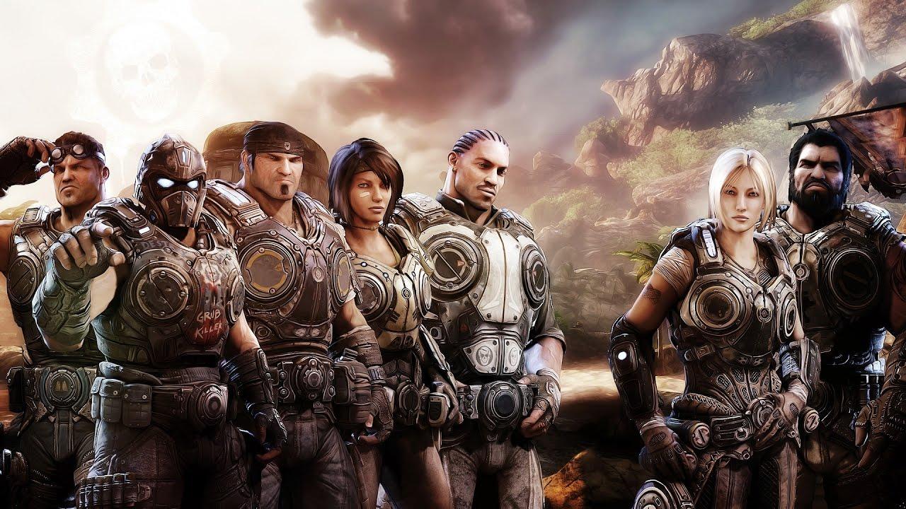 Gears Of War The Complete Saga Movie Gears Of War 4 Gow 1 Gow