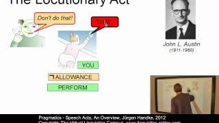 Semantics and Pragmatics - Speech Acts, An Overview