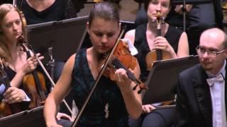Conducting Masterclass. 07/2015. Final concert. Olga Šroubková & Moravian Philharmonic Orchestra.